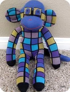 funky sock monkey pictures