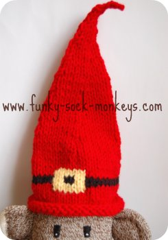 halloween witch hats red sock monkey