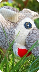 sock elephant, sock animals