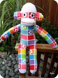 sock doll sock monkey pictures