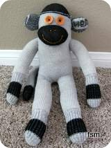 sock monkey photos