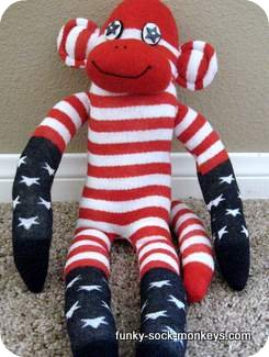 sock monkey dolls picture