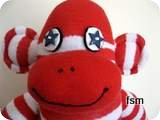 sock monkey picture