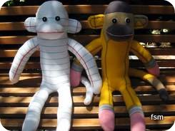 sock monkey pictures