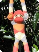 sock monkey photos