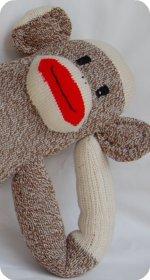 Rockford red heel sock monkey