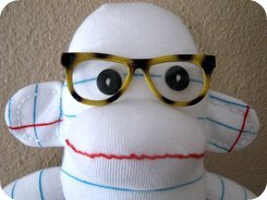 sock monkey stuffed animals