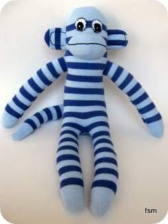 sockmonkey sock monkey body