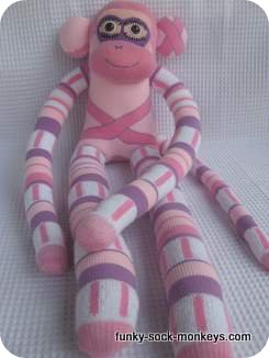 sock monkey dancing