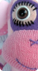 sock monkey sock craft