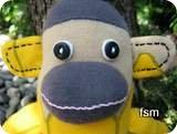 sock monkey picture