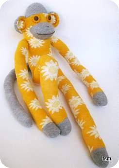 sock monkey socks