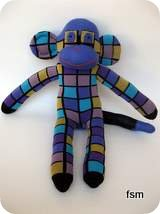 funky sock monkey