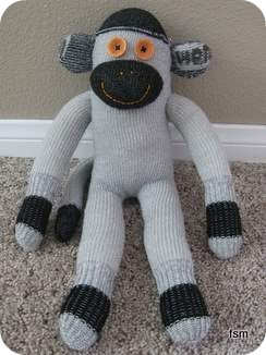 wigwam diabetic sock monkey