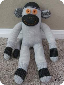 wigwam diabetic sock monkey