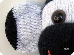 sock monkey faces